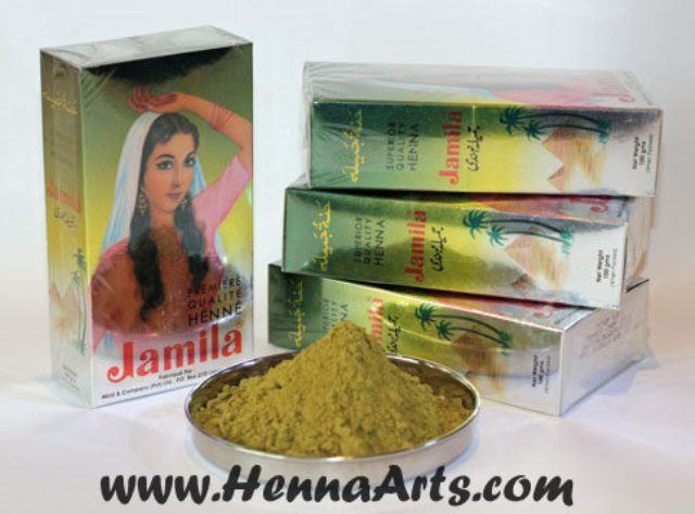 Jamila henna powder for hair and for body shop online at www.hennaarts.com