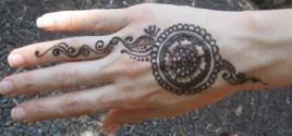 Henna tattoo questions and answers myths and facts for How much does a henna tattoo cost