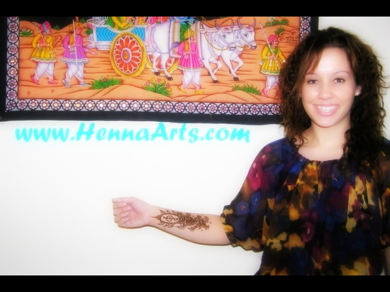 Henna is happiness