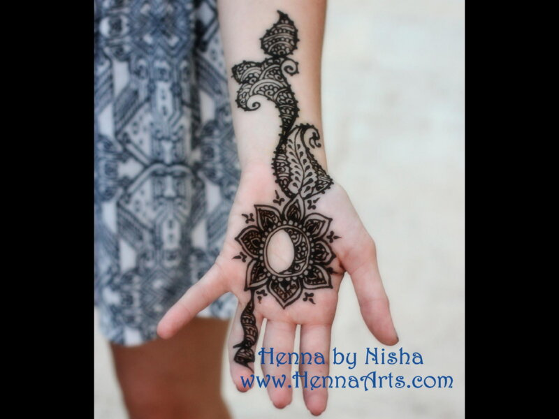 Modern unique mehndi designs for teens