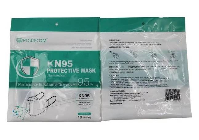 KN 95 Covid Masks 10 pack