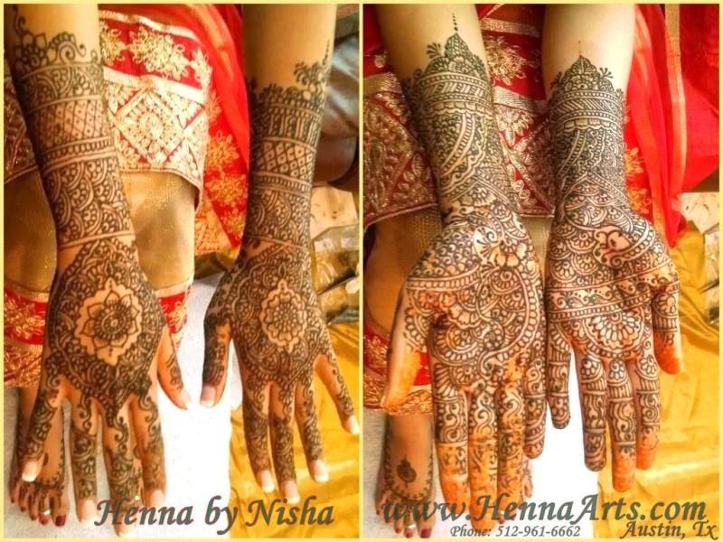 Mehndi Henna Wedding : Indian wedding henna for bride dulhan mehndi austin tx
